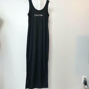 Vintage Calvin Klein Maxi Tank Dress